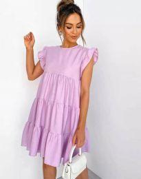 Φόρεμα - κώδ. 2666 - μωβ