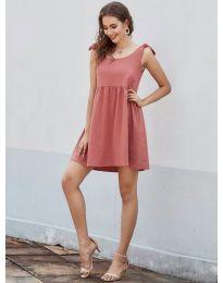 Φόρεμα - κώδ. 2255 - πορτοκαλί