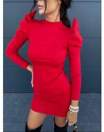 Φόρεμα - κώδ. 1504 - 3 - κόκκινο