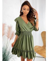 Φόρεμα - κώδ. 8554 - πράσινο