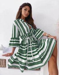 Φόρεμα - κώδ. 1481 - πράσινο