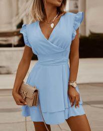 Φόρεμα - κώδ. 5654 - γαλάζιο