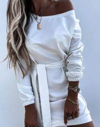 Φόρεμα - κώδ. 2409 - λευκό