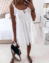 Φόρεμα - κώδ. 2540 - λευκό