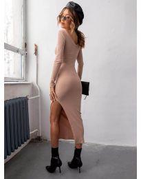 Φόρεμα - κώδ. 12070 - ροδακινί