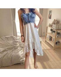 Φόρεμα - κώδ. 0717 - λευκό
