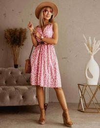 Φόρεμα - κώδ. 5488 - 6 - πολύχρωμο