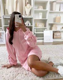 Φόρεμα - κώδ. 2949 - ροζ