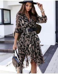 Φόρεμα - κώδ. 8366 - 1 - πολύχρωμο