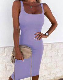 Φόρεμα - κώδ. 8899 - μωβ