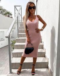 Φόρεμα - κώδ. 2960 - ροζ
