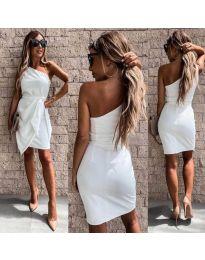 Φόρεμα - κώδ. 2457 - λευκό