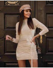 Φόρεμα - κώδ. 9545 - σαμπανιζέ