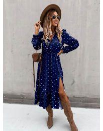 Φόρεμα - κώδ. 8866 - 4 - πολύχρωμο