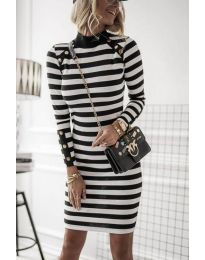 Φόρεμα - κώδ. 1573 - 1 - μαύρο