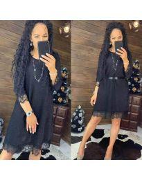 Φόρεμα - κώδ. 1426 - μαύρο