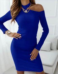Φόρεμα - κώδ. 4859 - μπλε