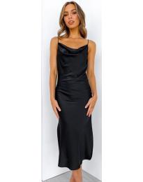 Φόρεμα - κώδ. 7161 - μαύρο