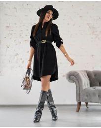 Φόρεμα - κώδ. 9601 - μαύρο