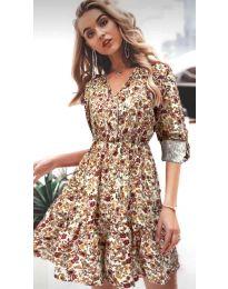 Φόρεμα - κώδ. 979 - 2 - πολύχρωμο