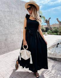 Φόρεμα - κώδ. 4806 - μαύρο