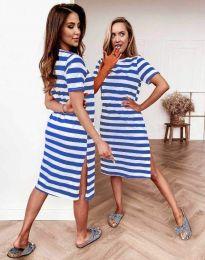 Φόρεμα - κώδ. 7794 - μπλε