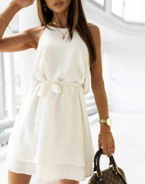 Φόρεμα - κώδ. 9968 - λευκό