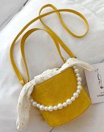 Τσάντα - κώδ. B428 - κίτρινο