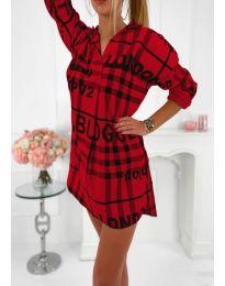 Φόρεμα - κώδ. 5456 - κόκκινο