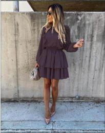 Φόρεμα - κώδ. 7723 - μαύρο