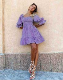 Φόρεμα - κώδ. 4791 - 1 - μωβ