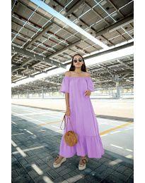 Φόρεμα - κώδ. 3636 - μωβ