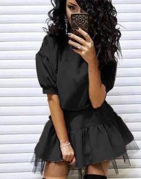 Φόρεμα - κώδ. 2856 - μαύρο