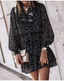 Φόρεμα - κώδ. 6014 - 4 - πολύχρωμο