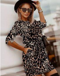 Φόρεμα - κώδ. 3060 - 5 - πολύχρωμο