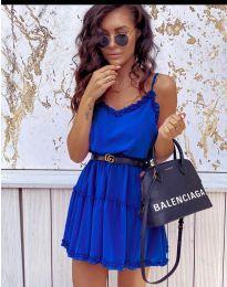 Φόρεμα - κώδ. 7758 - σκούρο μπλε