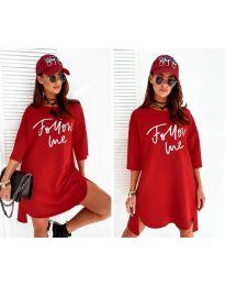 Φόρεμα - κώδ. 0522 - κόκκινο