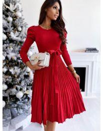 Φόρεμα - κώδ. 3939 - κόκκινο