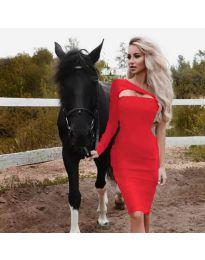 Φόρεμα - κώδ. 955 - κόκκινο
