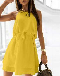 Φόρεμα - κώδ. 9968 - κίτρινο