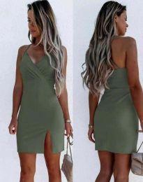 Φόρεμα - κώδ. 8979 - λαδί