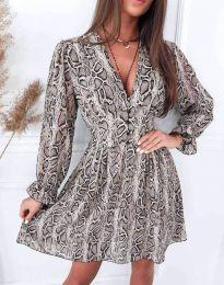 Φόρεμα - κώδ. 8434 - πολύχρωμο