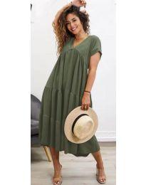 Φόρεμα - κώδ. 4475 - χακί