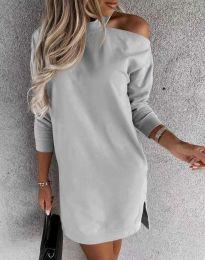Φόρεμα - κώδ. 0796 - γκρι