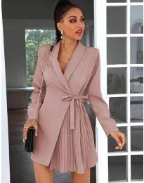 Φόρεμα - κώδ. 0333 - πούδρα