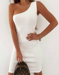Φόρεμα - κώδ. 11699 - λευκό