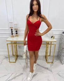 Φόρεμα - κώδ. 11808 - κόκκινο