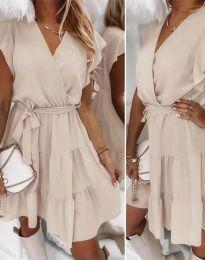 Φόρεμα - κώδ. 2345 -  σαμπανιζέ