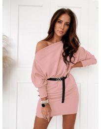 Φόρεμα - κώδ. 4442 - ροζ