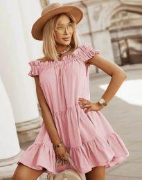 Φόρεμα - κώδ. 6969 - ροζ